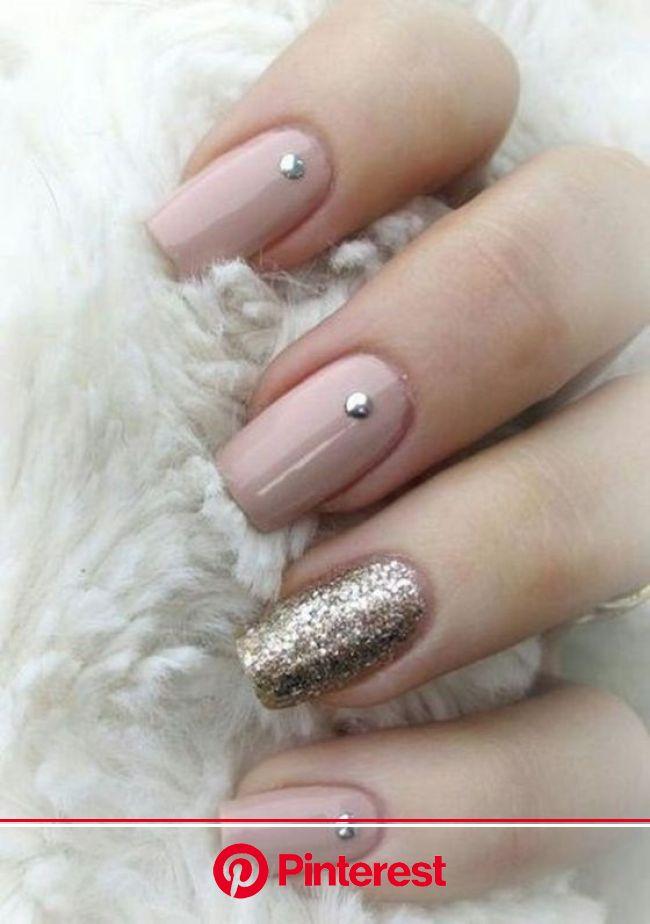 Winter Nail Designs You Need To Copy This Season - Society19 UK | Cute spring nails, Neutral nail art designs, Winter nail designs