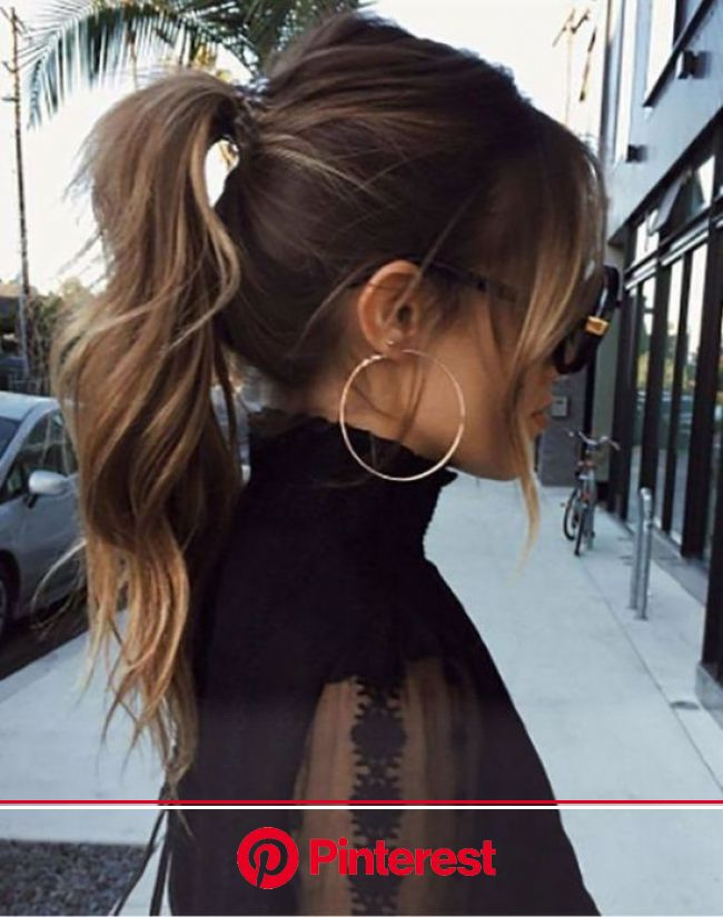 8 Glamorous Hairstyles To Pull Off This Spring - Society19 | Hair styles, Long hair styles, High ponytail hairstyles