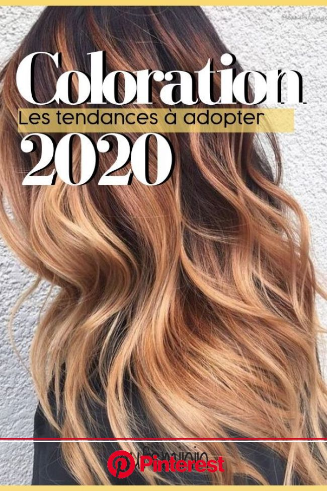 Les tendances coloration cheveux 2020 | Coloration cheveux, Idee coupe cheveux long, Couleur cheveux court