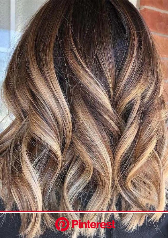 Making a blanket for the baby | Brown hair balayage, Ombre hair color for brunettes, Hair styles
