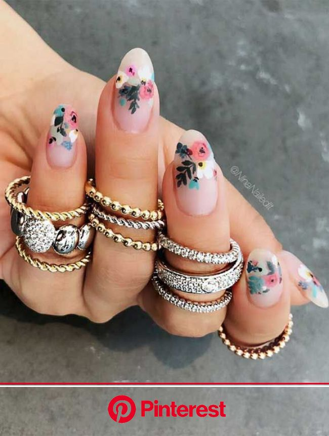 These pretty nails are just perfect for Spring in 2020 | Chic nails, Pretty nail art designs, Chic nail designs