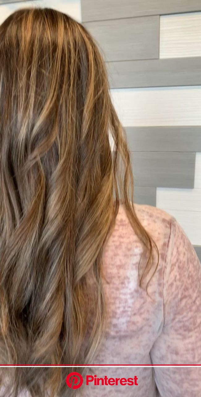 Foiliyage is a type of balayage but with a custom placement, in this case I foiled to the root in the front a… [Video] | Low maintenance hair, Long ha