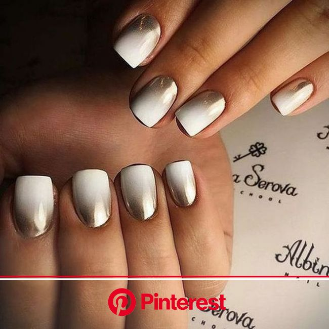 Pin by Ivory Wind on Nails | Chrome nails designs, Metallic nails, Chrome nail art
