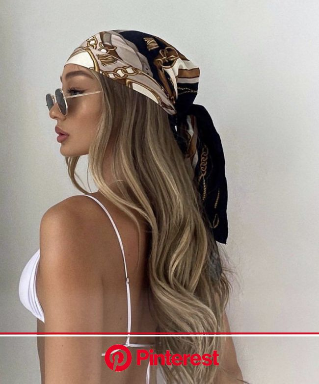 fan outfits account on Twitter in 2021 | Scarf hairstyles, Aesthetic hair, Hair styles
