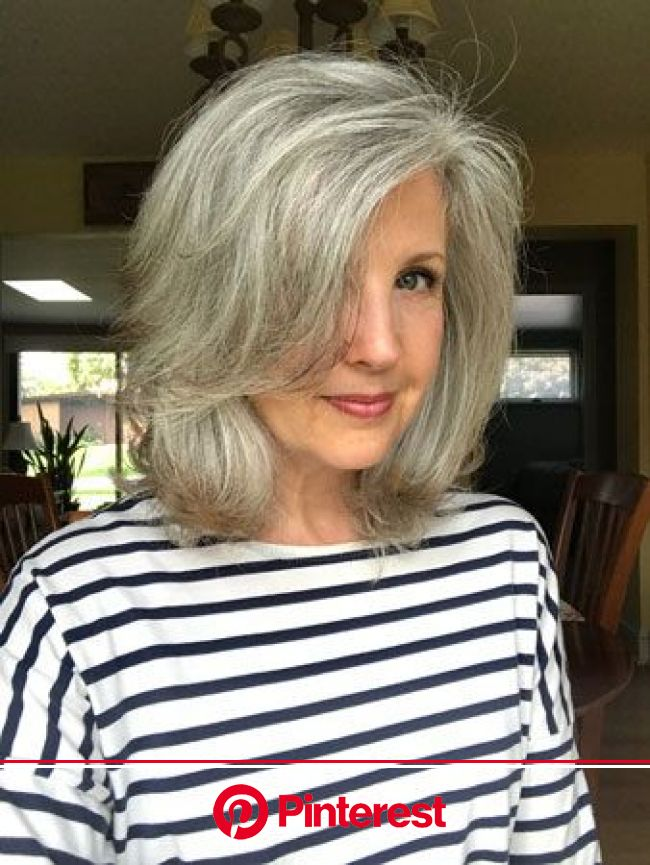 Joni's Grey Hair Transition: The 18 Month Journey! | Katie Goes Platinum | Transition to gray hair, Grey hair transformation, Gorgeous gray hair