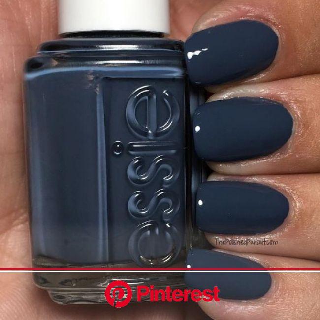 20 Nail Colors to Rock this Fall & Winter | Nail polish hacks, Blue nail color, Blue nail polish