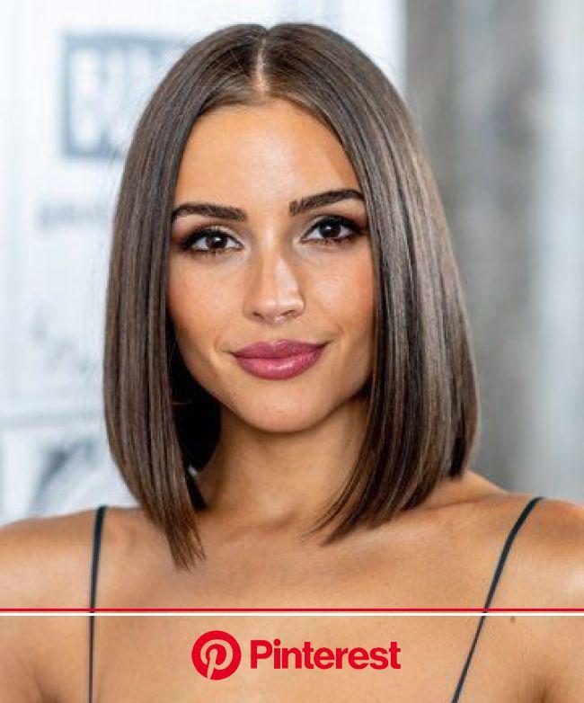 Tipo de raya de cabello que debes tener según tu cara - Mujer de 10: Guía real para la mujer actual. Entérate ya. in 2020 | Long bob hairstyles thin,