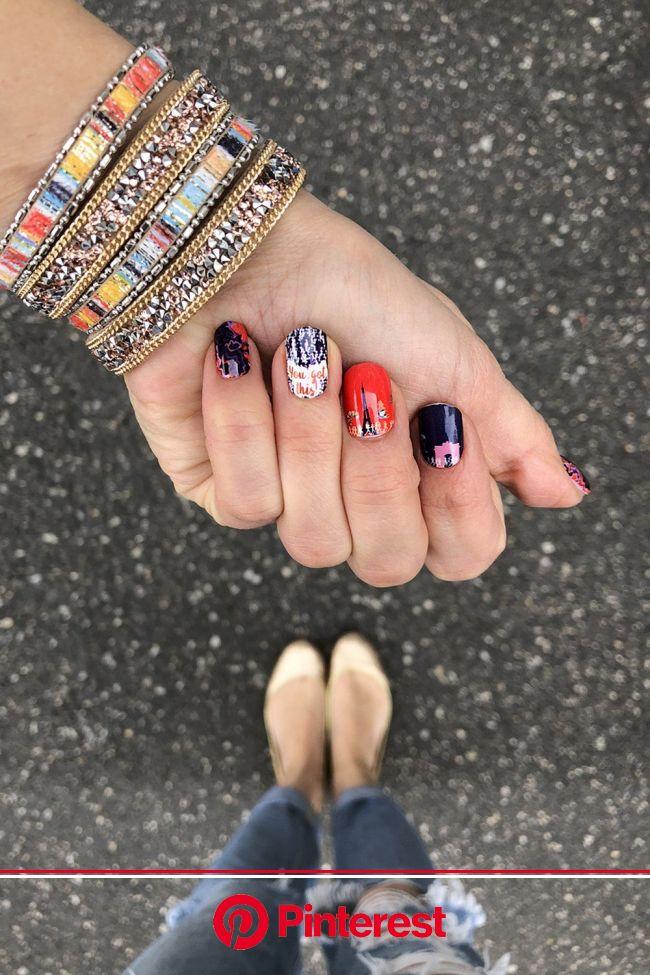 Paris Nail Wraps in 2021 | Paris nails, Nail wraps, Bright summer acrylic nails