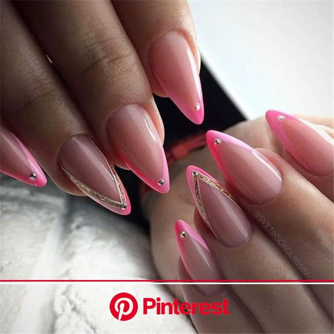 More than 100 fashionable nail designs, there is always something you like. - Page 85 of 135 - Inspiration Diary | Manicure, Pink french nails, French