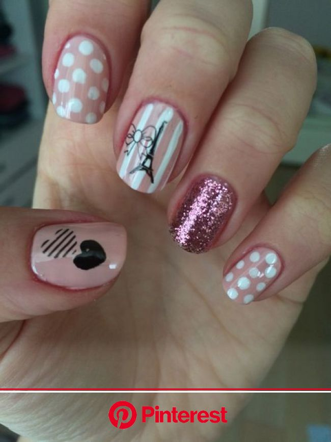 Find images and videos about nails and paris on We Heart It - the app to get lost in what you love. | Paris nails, Nails for kids, Paris nail art