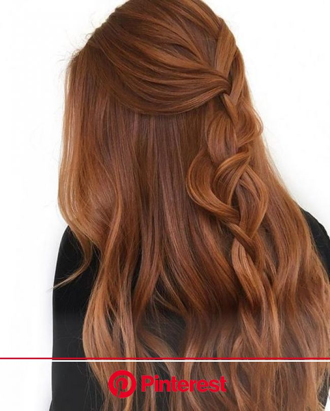 red braided hair in 2020 | Ginger hair color, Ginger hair, Natural red hair