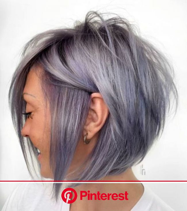 The Full Stack: 50 Hottest Stacked Haircuts in 2020 | Stacked haircuts, Thick hair styles, Short bob hairstyles
