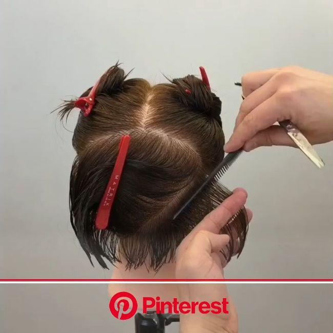 Round Graduation [Video] | Haarschneidetechniken, Haare schneiden, 20er jahre frisur
