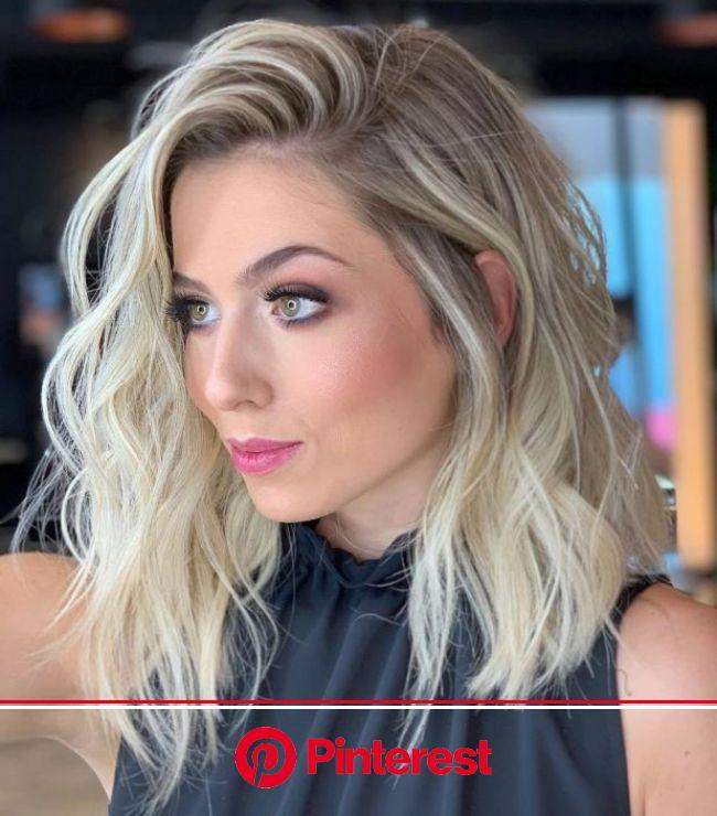 60 Fun And Flattering Medium Hairstyles For Women Medium Hair Styles Shoulder Length Hair Blonde Hair Lengths Clara Beauty My