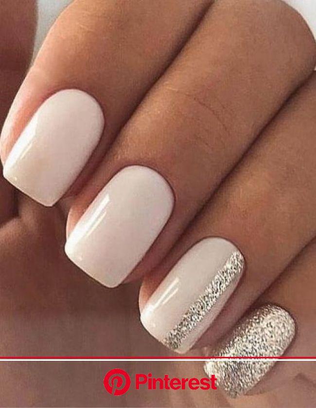 NAIL ART DESIGN FOR STYLISH BRIDES in 2020 | Square nail designs, Short square nails, Natural nail art