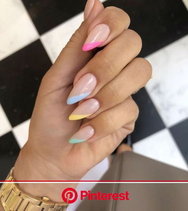 61 Summer Nail Color Ideas For Exceptional Look 2019 Koees Blog | Summer nails colors designs, Nails, Summer nails colors
