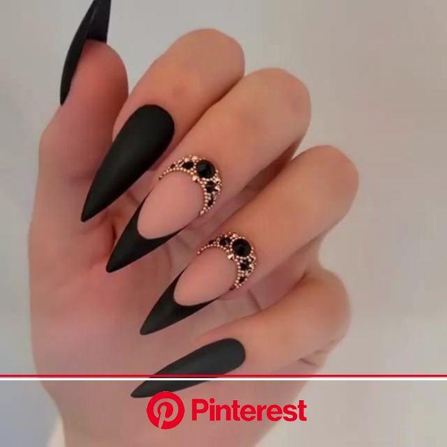 Fall Glam Nail Vibes [Video] | Glam nails, Gel nails, Nail designs