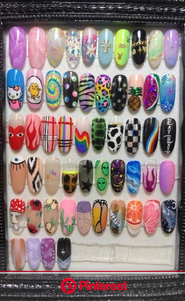 Discovered by ♡Meet The Beatles♡. Find images and videos about nails on We Heart It - the app to get lost in what you l… | Экзотические ногти, Ногти,