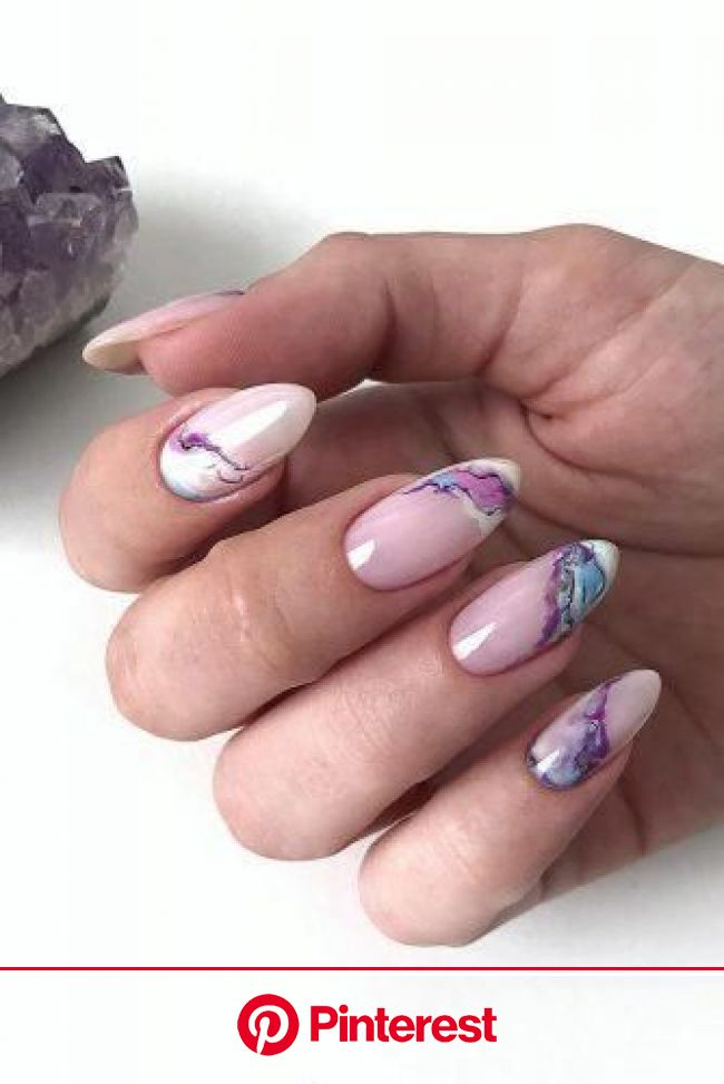 The Best Wedding Nails 2021 Trends | Neutral nails, Marble nail designs, Colorful nail designs