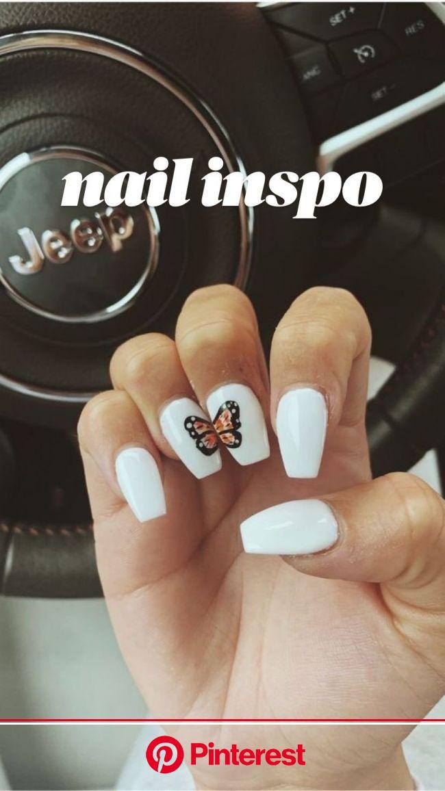 nail inspo in 2021 | Acrylic nails, Cute gel nails, Gel nails