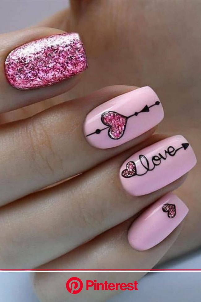 Best Valentine's Day Nail Art Ideas In 2020 | Stylish Belles in 2020 | Nail designs valentines, Valentine nail art, Valentine nails pink