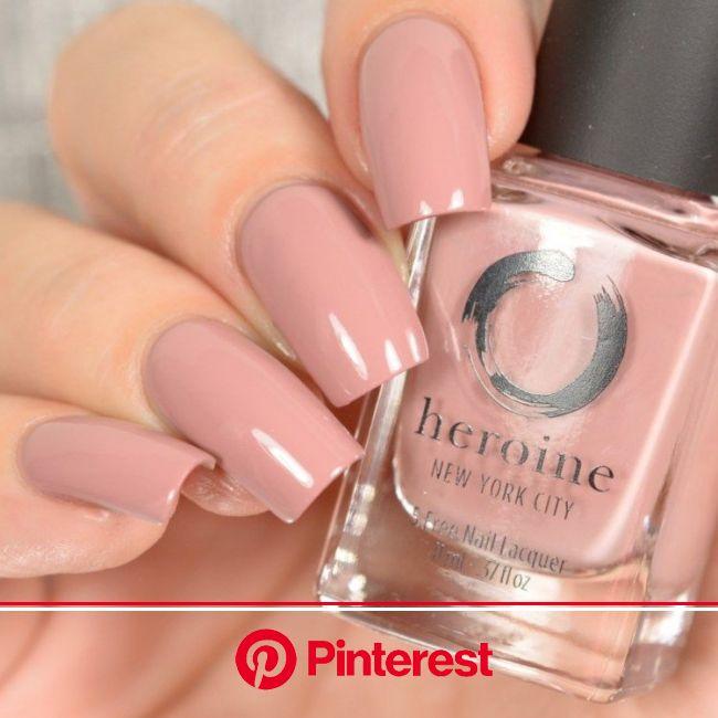 Heroine NYC Fall 2018 Cremes | Nails, Nail colors, Feather nails