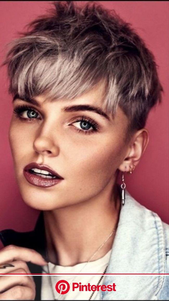 20+ Wunderschöne Kurzhaarfrisuren für Frauen und Haarfarbenempfehlung | Pinterest