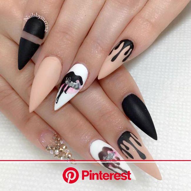 Inspiring Stiletto Nails To Win Over You | NailDesignsJournal.com | Nails, Nail designs, Stiletto nails designs