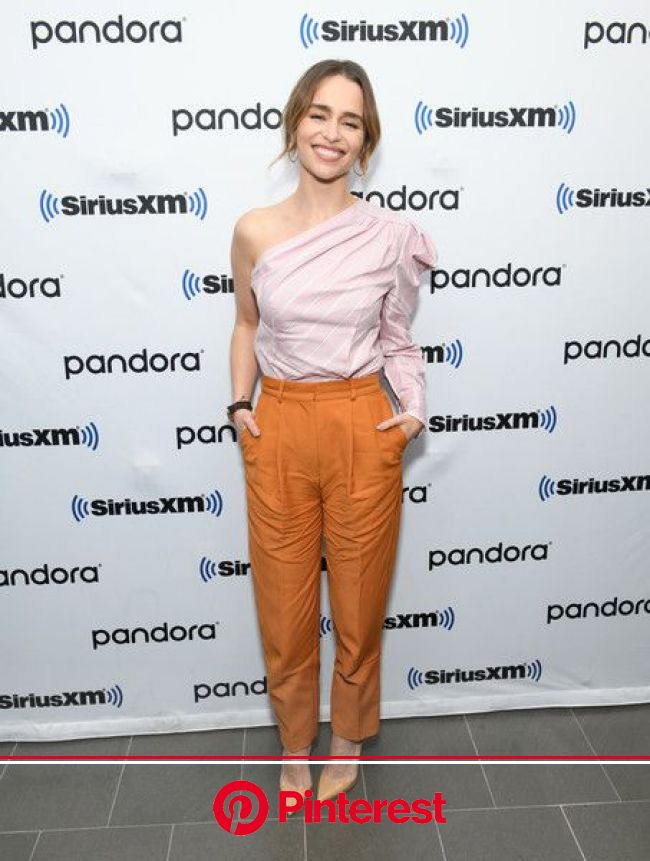 Emilia Clarke Photos Photos: SiriusXM Town Hall Special With The Cast Of 'Last Christmas' Hosted By SiriusXM's Jessica Shaw At The Siri