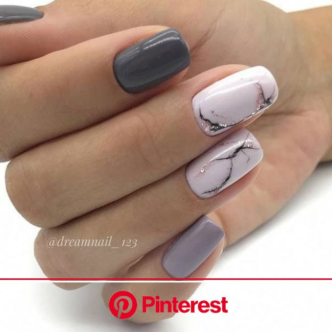 Pin by Kaliyeva Bota Amangeldinovna on Маникюр in 2020 | Short acrylic nails, Minimalist nails, Gel nails