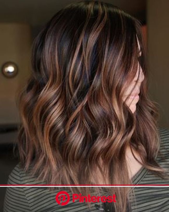 60 Looks with Caramel Highlights on Brown and Dark Brown Hair | Dark brown hair color, Hair styles, Hair lengths