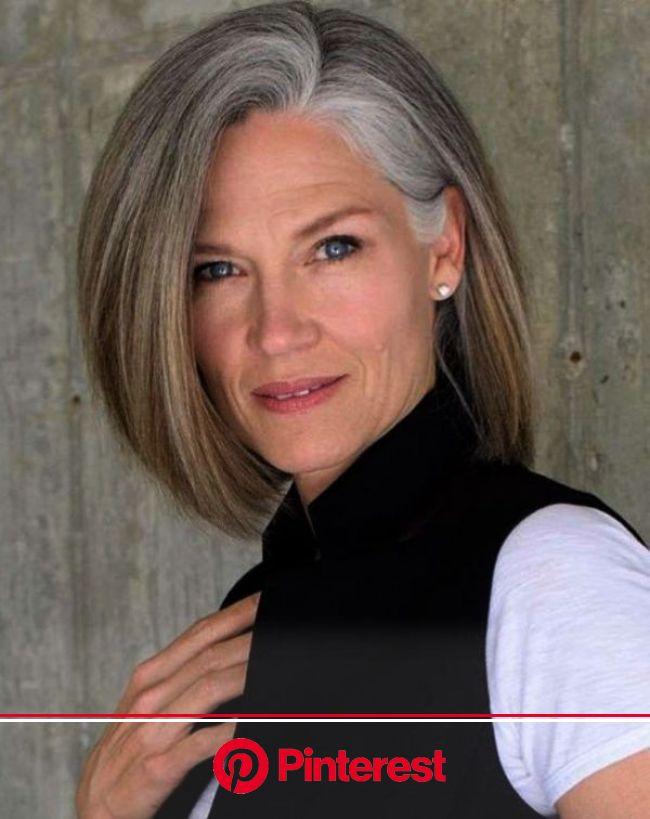 100+ Best Short Hairstyles For Women Over 50 – Femina Talk | Gray hair growing out, Gray hair highlights, Blending gray hair