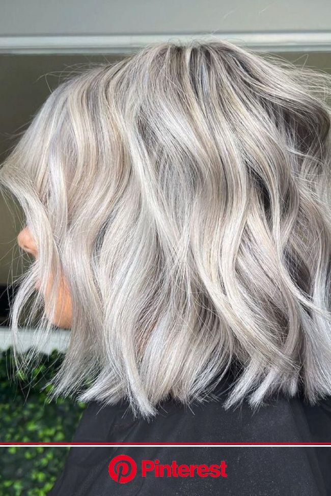 Who Can Pull Off A Silver Bob? [Video] in 2021 | Hair, Silver blonde hair, Bob hairstyles
