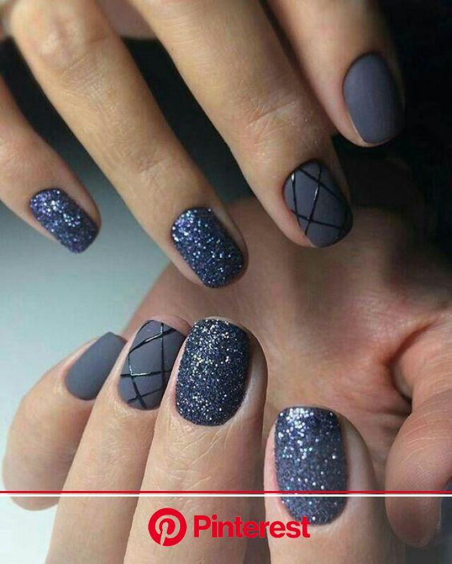 Manicure Geometric Nail Art Ideas | Manicure nail designs, Modern nails, Geometric nail