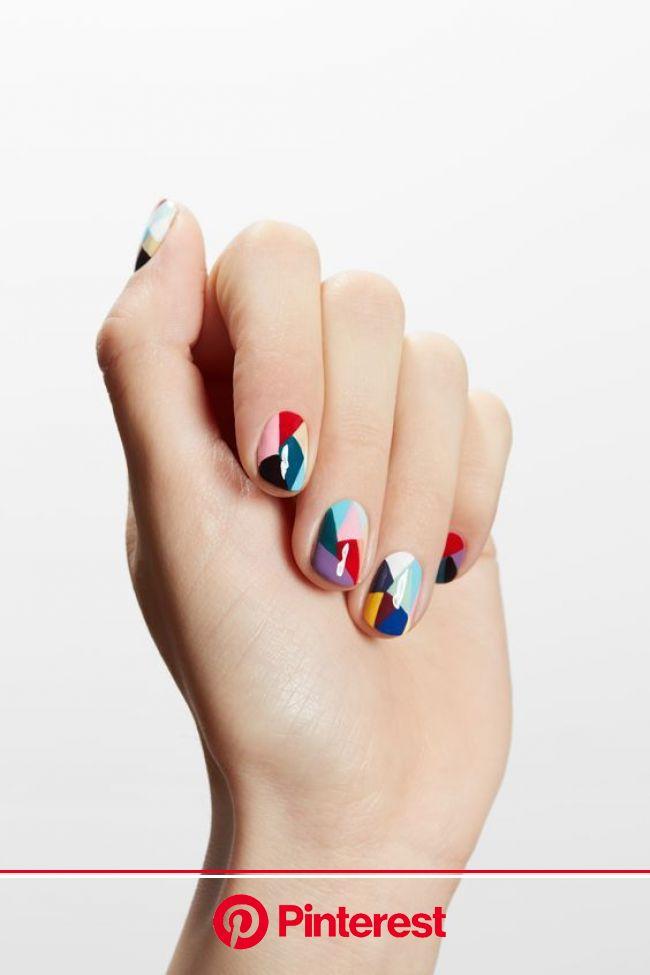 What Nail Art Should You Wear That Describes You? | Nail designs spring, Geometric nail, Nail art designs