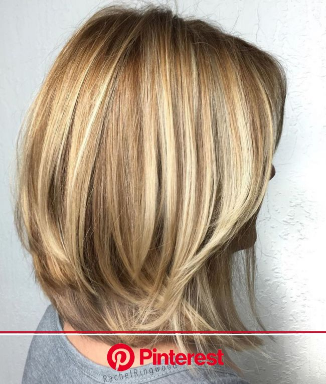 70 Brightest Medium Layered Haircuts to Light You Up   Medium layered haircuts