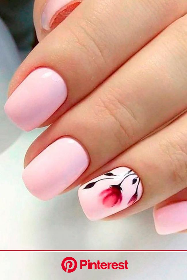 Daily Charm: Over 50 Designs for Perfect Pink Nails | Light pink nails, Pink nails, Fashion nails