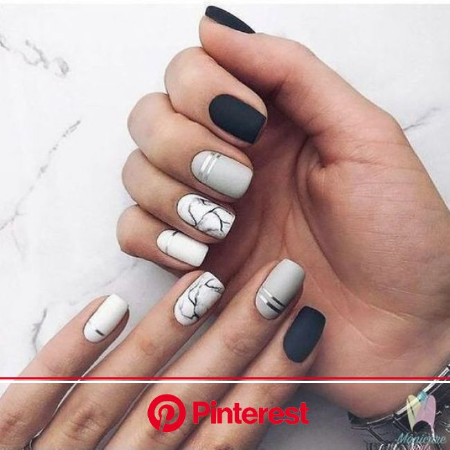20+ Simple and Easy Latest Nail Art Designs Images and Ideas 2019-2020 | Trendy nails, Marble nail designs, Fall nail designs