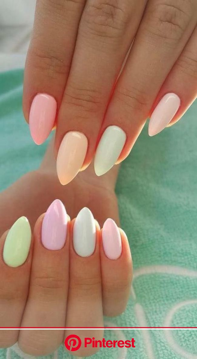 The Spring 2019 Nail Trends You Need To Know - Society19 | Spring nails, Easter nails, Simple spring nails