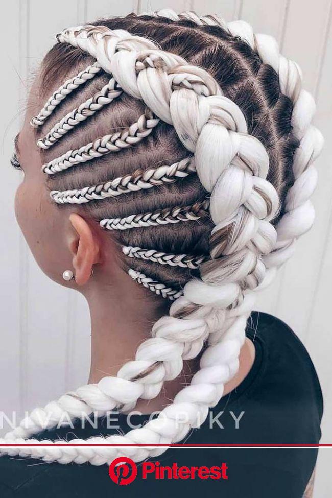 33 Geflochtene Kanekalon Haar für perfekten Sommer | Kanekalon hairstyles, Hair styles, Braided hairstyles