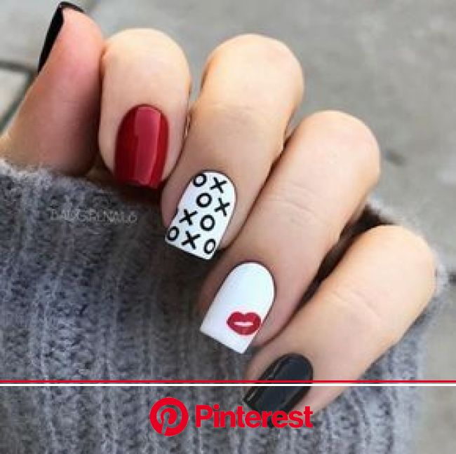 VALENTINES DAY NAIL DESIGNS TO FALL IN LOVE WITH - Moosie Blue | Heart nail designs, Nail designs valentines, Valentine's day nail designs
