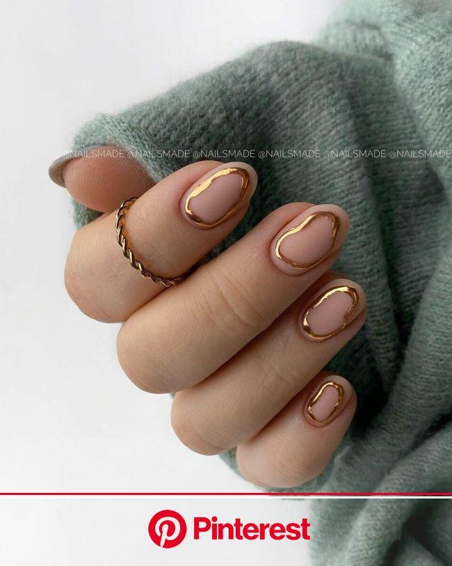 Золото на ногтях: 18 фото идей, как сделать дорогой и статусный маникюр | Ногти, Длинные ногти, Дизайнерские ногти