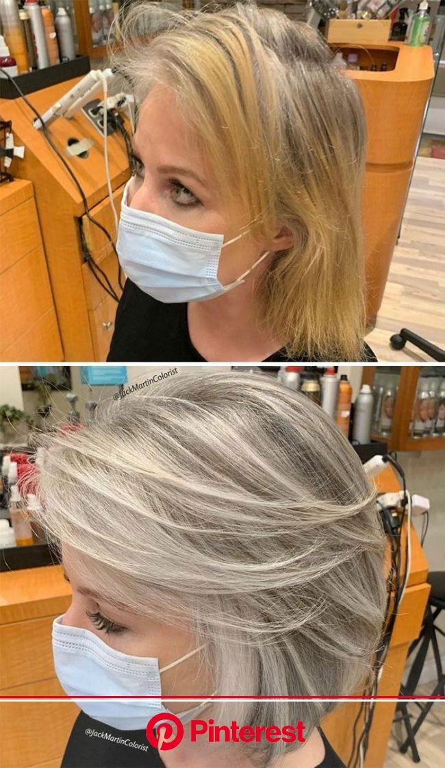 75 people that made the switch to full grey and have never looked better in 2021 | Blending gray hair, Gorgeous gray hair, Transition to gray hair