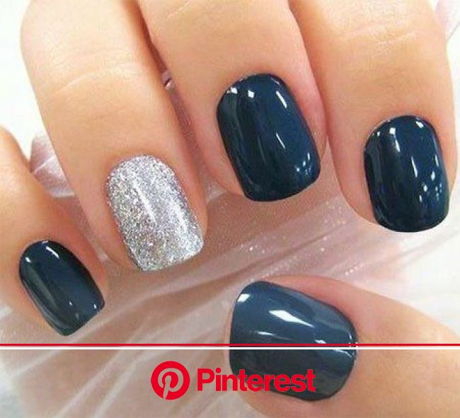 Cable Knit Nails The Latest Trend This Season | Navy nails, Nails, Makeup nails