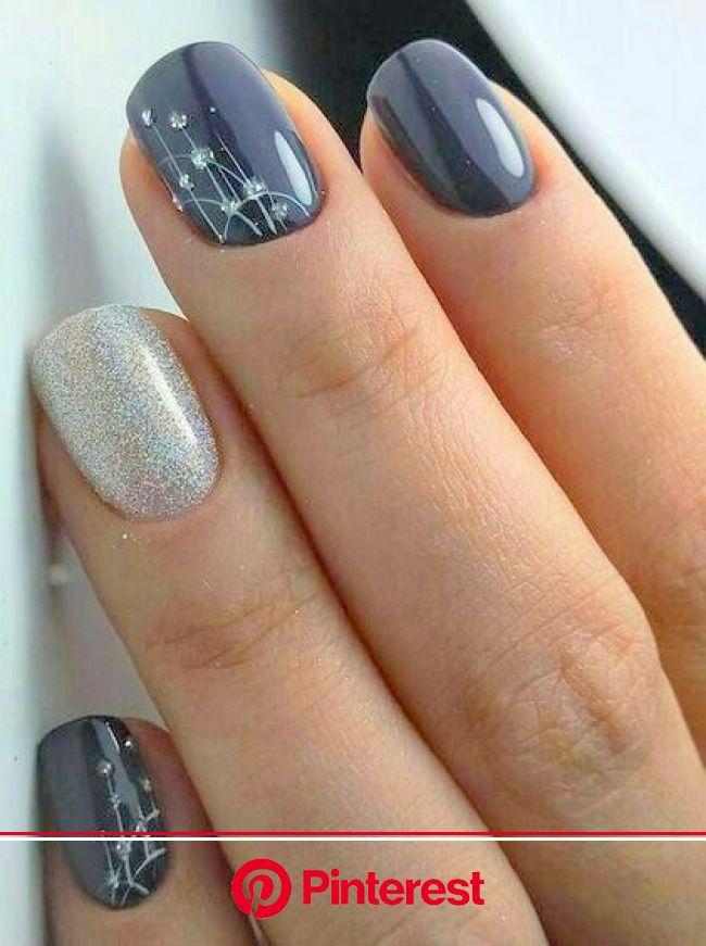 50+ Stylish Christmas Nail Colors and How To Do Them | Bridal nail art, Bridal nails, Floral nail designs