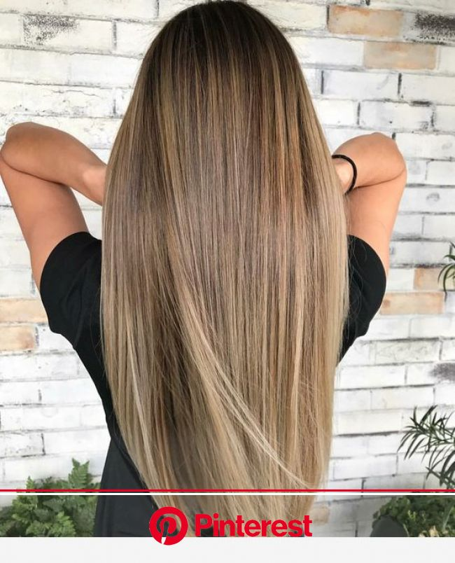 I like this light espresso hair in 2020 | Balayage straight hair, Straight hairstyles, Hair color for women