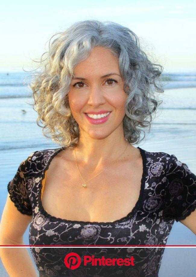 Grey is Beautiful … or is it? | Medium hair styles, Curly hair styles, Short hair styles