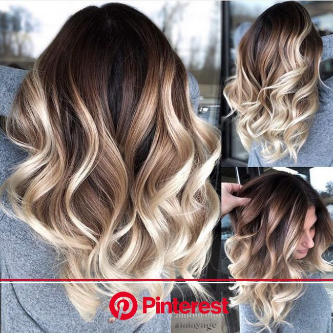 22 Beautiful Ombre Styles for Darker Hair - Inspired Beauty | Balayage hair, Hair styles, Brown blonde hair