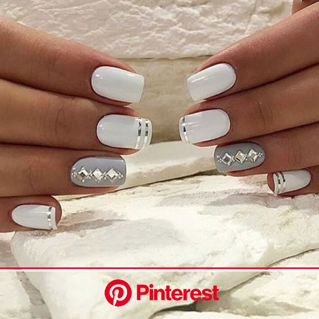 30 Wedding Nail Designs Ideas For Your Big Day - The Wonder Cottage | Nail designs, Instagram nails, Pretty nails