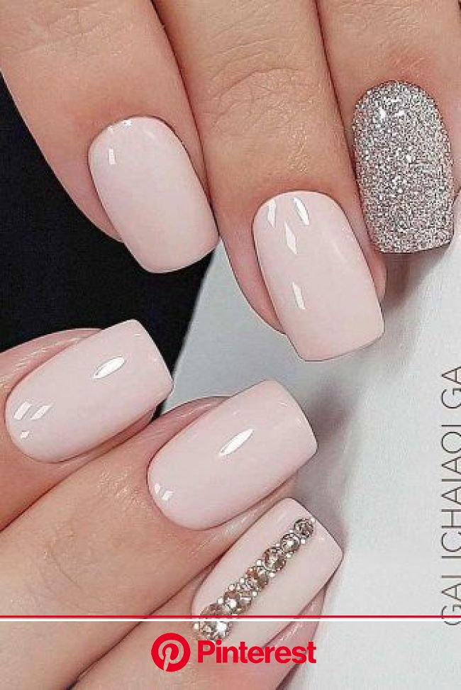 39 Exquisite Ideas Of Wedding Nails For Elegant Brides | Bride nails, Wedding nails design, Elegant nails